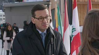 Polen Ministerpräsident Morawiecki kritisiert Brüssel - schon wieder.
