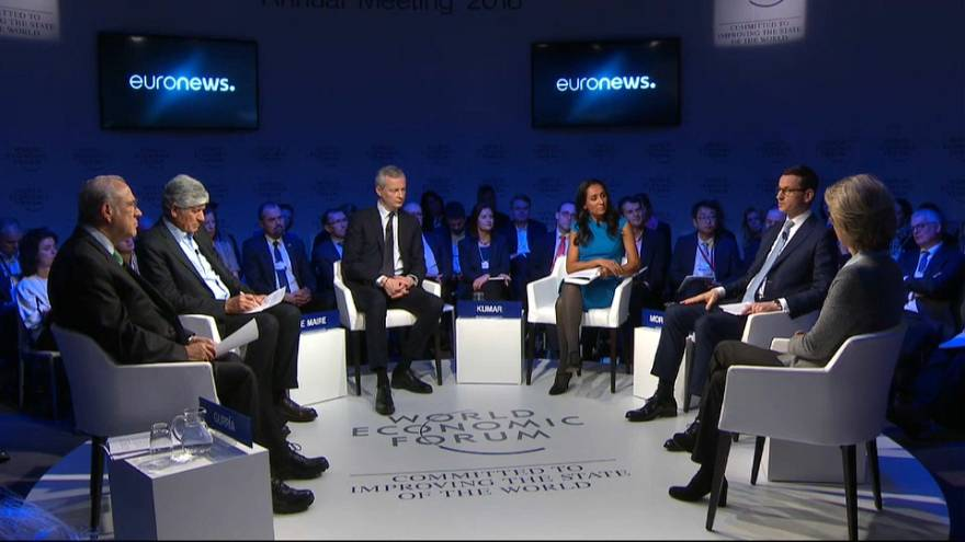 World Economic Forum di Davos: ¨Multilateralismo si o no? Il dibattito moderato da Euronews