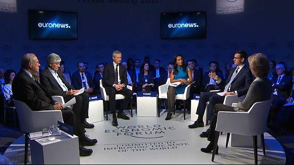 Davos debate desafios e dilemas da Europa