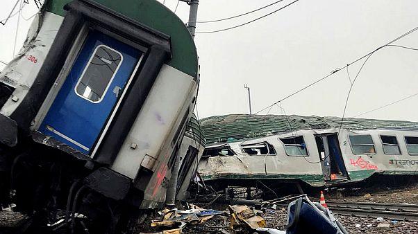Μιλάνο: Πρόβλημα στις ράγες η αιτία του δυστυχήματος