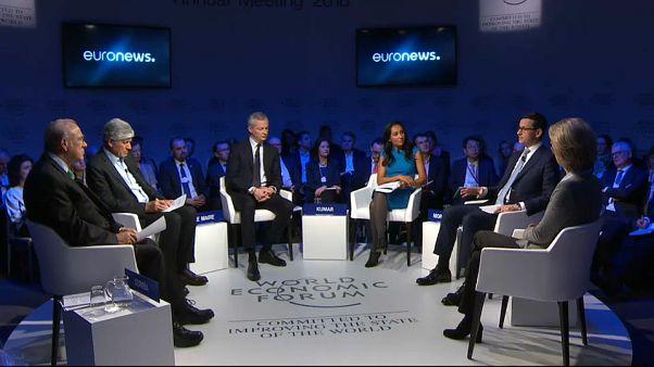 """""""Europa zwischen Vision und Dilemma"""" - Euronews Diskussionsrunde in Davos"""