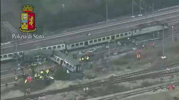 Tres muertos y 100 heridos tras descarrilar un tren en Milán