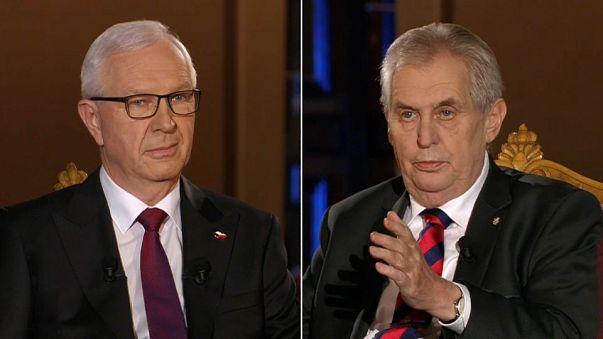 Imigração polariza presidenciais checas