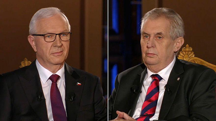 Çek seçmen yeni cumhurbaşkanını belirliyor