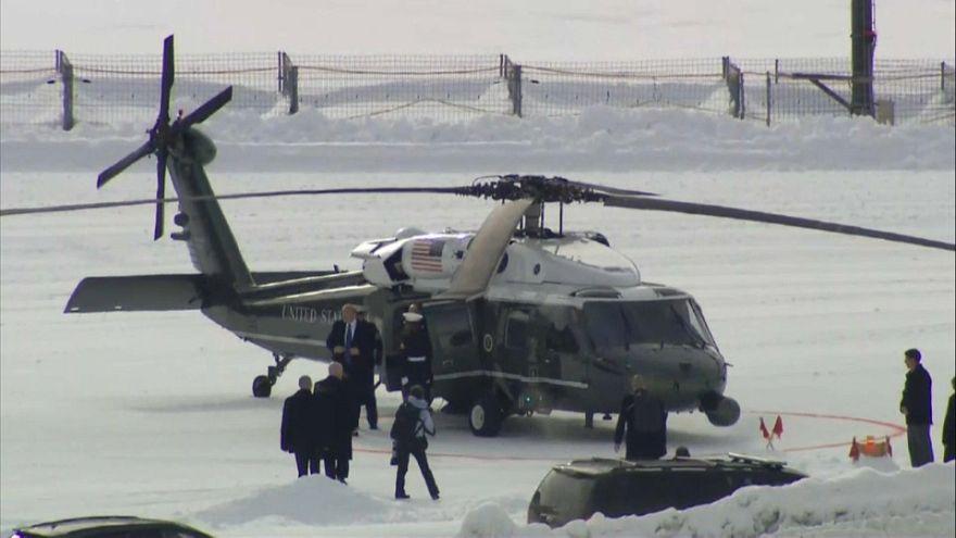 Президент США выступит в Давосе