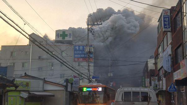 Τραγωδία στη Νότια Κορέα μετά από φωτιά σε νοσοκομείο