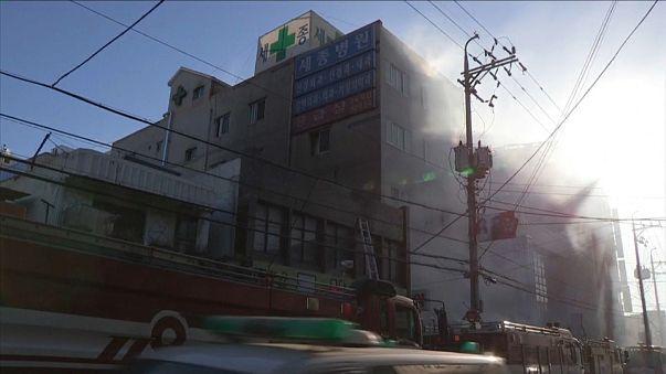 Trágico incendio en un hospital surcoreano