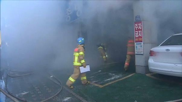 Incêndio mortal em hospital e lar de idosos