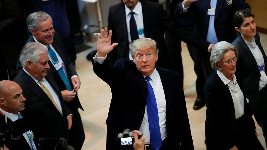 Trump 'ready to apologise' for UK far-right group retweet