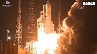 Funkstille: Zwischenfall nach Start von Ariane-Rakete