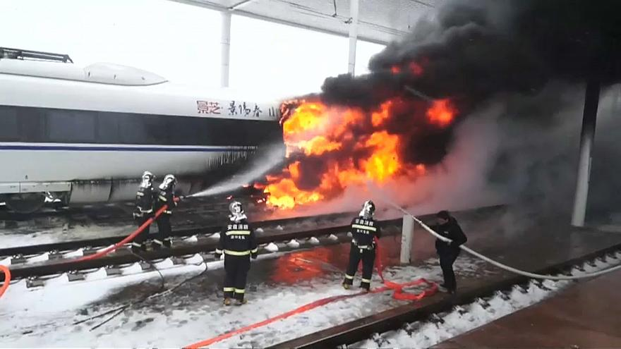 Китай: инцидент на железной дороге