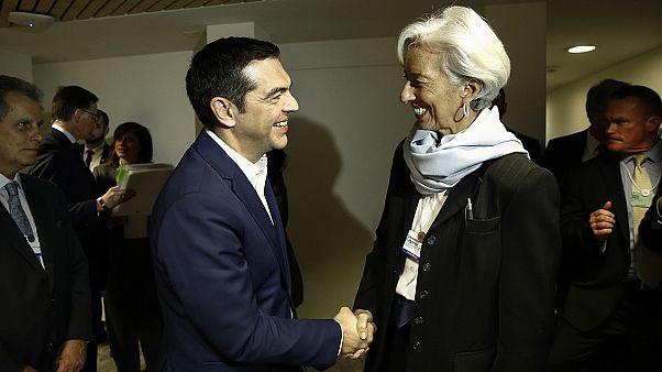 Αθήνα-Βρυξέλλες-Ουάσιγκτον «συναντήθηκαν» στο Νταβός για το χρέος