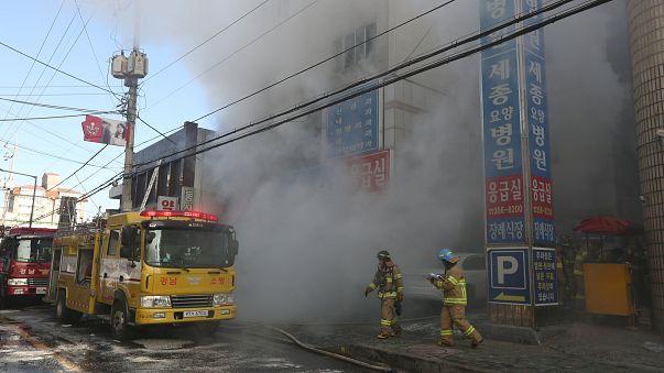 Au moins 37 morts dans l'incendie d'un hôpital sud-coréen
