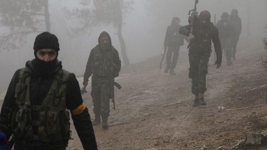 مقتل 14 مقاتلاَ بالجيش التركي والجيش السوري الحر بعفرين