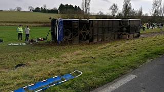 Nouvel accident de bus scolaire dans le sud-ouest