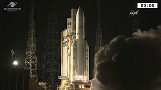 Δεν πήραν σωστή θέση οι δορυφόροι του Αριάν 5