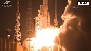 Lançamento conturbado do Ariane 5