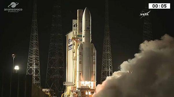 Megszakadt a kapcsolat egy Ariane 5-s rakétával
