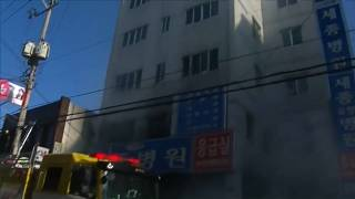 Пожар в больнице: десятки погибших