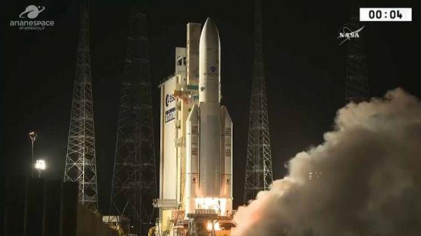 Ariane 5 son uzay yolculuğunda aksilik yaşadı