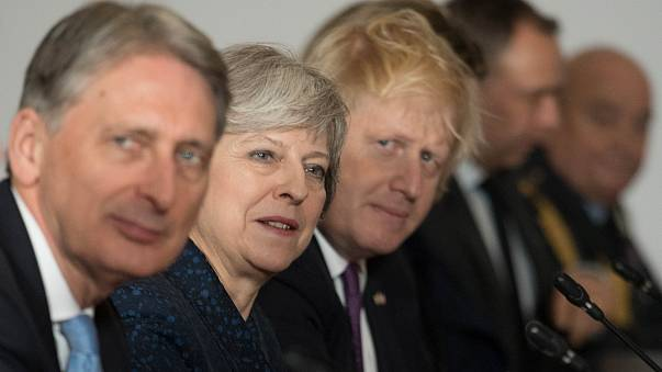 Theresa May rebukes ministers as Tory tensions rise over Brexit