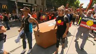 Invasion Day protests put Australia Day celebrations in shade