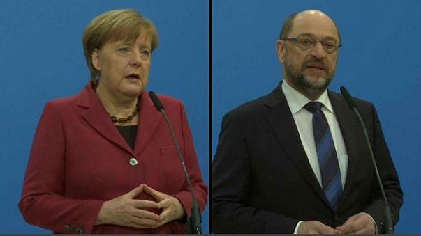 German 'grand coalition' talks begin