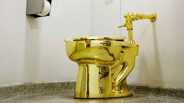 Maison Blanche : des toilettes en or en guise de Van Gogh