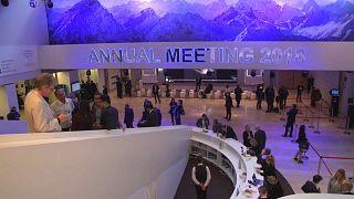 Davos'ta 'pembe' tablo