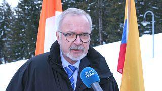 Wirtschaftliche Zuversicht in Davos