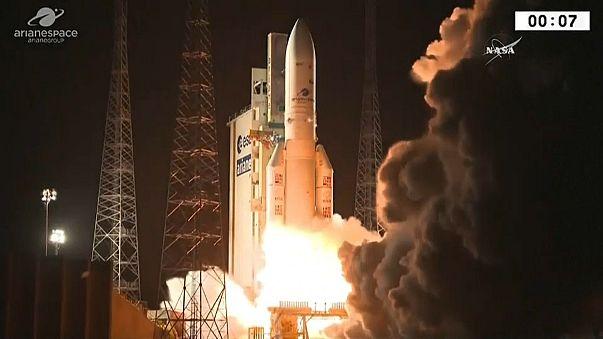 El despegue del Ariane 5.