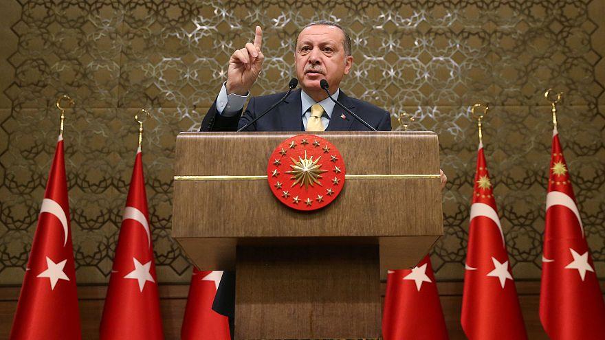 Cumhurbaşkanı Erdoğan: Terörle mücadelemizi Irak sınırına kadar sürdüreceğiz