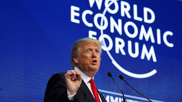 """Trump a Davos: """"Open for business, America first non significa America alone"""""""