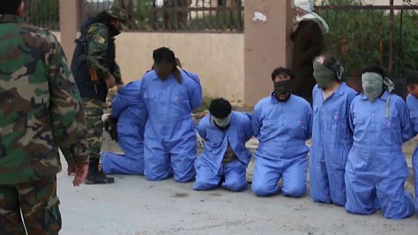 اعدام خیابانی در بنغازی