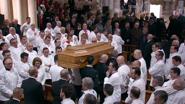 Bocuse funeral draws huge crowd to Lyon