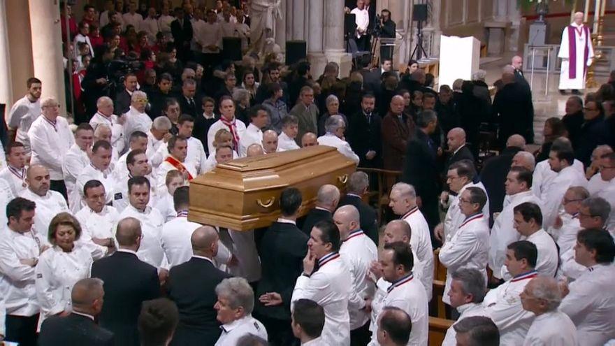 Último adiós a Paul Bocuse en Lyon
