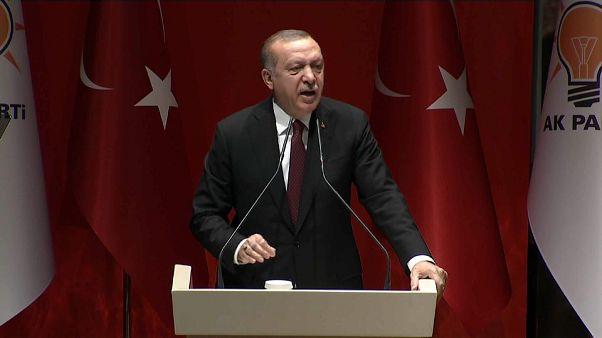 """Siria, Erdogan: """"Se necessario ci spingeremo fino al confine con l'Iraq"""""""