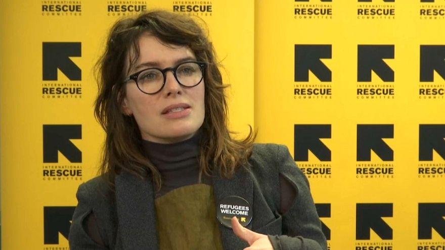 Glückliches Wiedersehen: Lena Headey trifft syrische Flüchtlingsfamilie in Deutschland