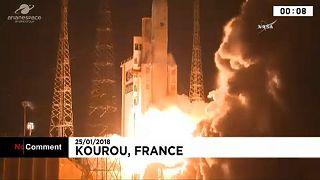 Így indult útjára a NASA GOLD-missziós rakétája