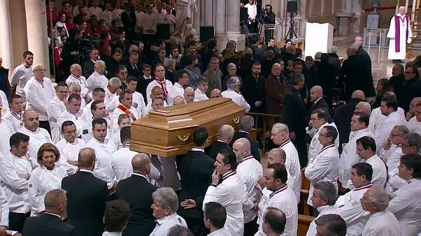 Paul Bocuse - Jahrhundertkoch in Lyon beerdigt