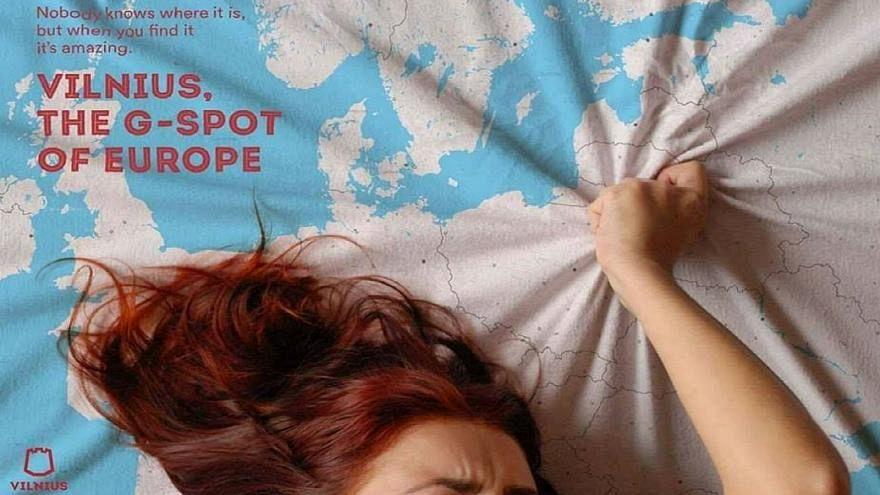 """Vilna es el punto """"G"""" de Europa, asegura una publicidad turística"""
