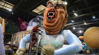 Le carnaval de Nice se paie les grands de ce monde
