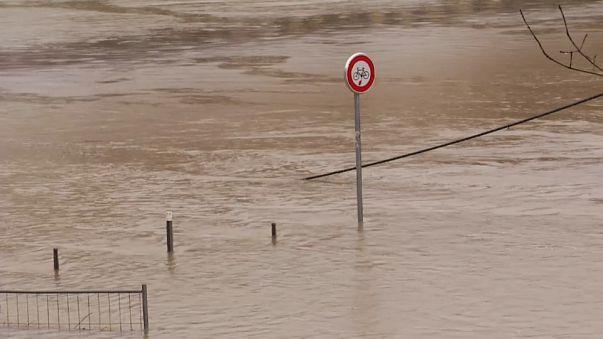 Inundações em França