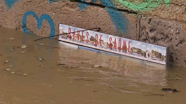 Большая вода в Лионе