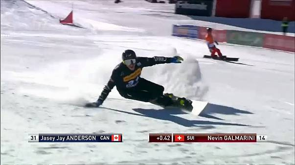 Snowboarding: Anderson proves he's still got what it takes