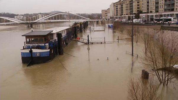 Hochwasser in Frankreich: Nach Paris nun auch Lyon