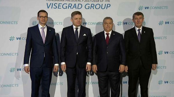 Los 4 de Visegrado plantan cara a Bruselas