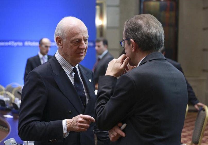 المبعوث الأممي إلى سوريا ستافان ديمستورا
