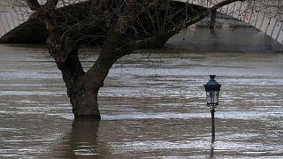Париж затопило