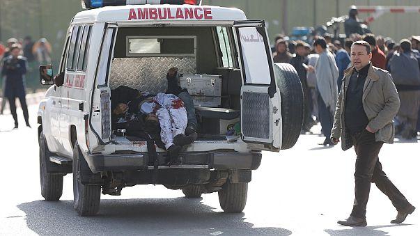 Теракт в Кабуле, десятки погибших